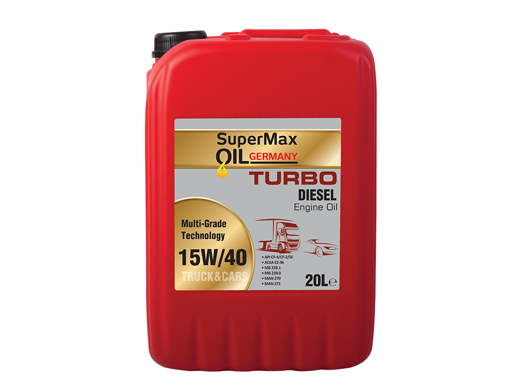 SuperMax Oilgermany Turbo Diesel 15W/40